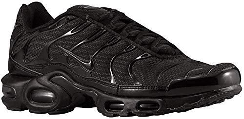 Nike Air Max Plus, Chaussures de Gymnastique Homme Noir (Black/Black/Black 050) 46 EU