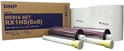 "DNP Print Media for DS-RX1HS High Speed Dye Sub Printer - 6x8"" 350 Prints Per Roll; 2 Rolls Per Case (700 Total Prints)"