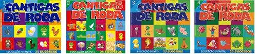 Coleção Cantigas de Roda 4 CDs 100 Músicas Educação Infantil