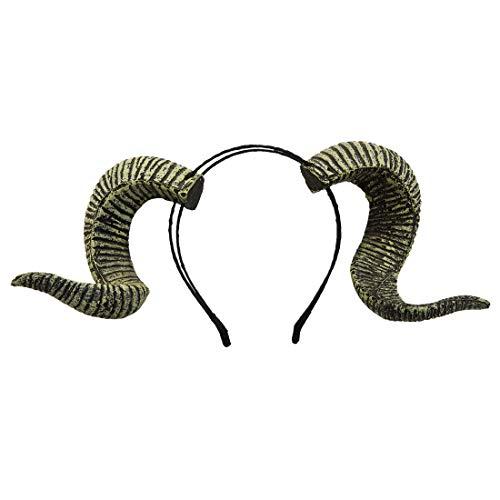 dream cosplay Gotisch Widderhorn Stirnband Halloween Kostüm Haarschmuck
