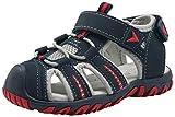 Apakowa Kid's Boy's Soft Sole Close Toe Sport Beach Sandals (Toddler/Little Kid) (Color : Gray, Size : 7 M US Toddler)