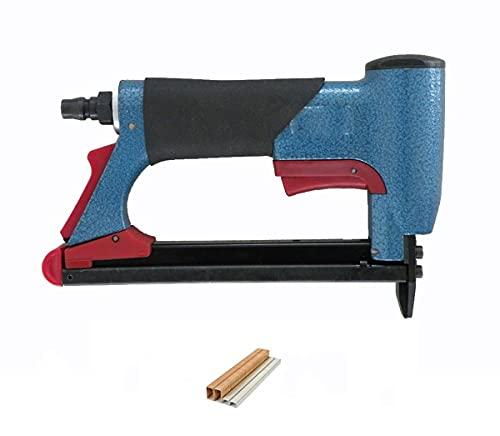 SDLSH Pistola de Clavos Pistola neumática de uñas, Pistola de Grapadora de Aire Fina Pistola Remachadora (Color : 7116 9.1mm)