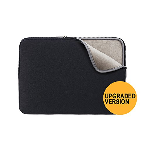 11.6 Inch Laptop Sleeve Case Protective Soft Neoprene Cover Zipper Carrying Bag for Notebook Computer Chromebook Tablet Ultrabook of Dell HP ThinkPad Lenovo Toshiba Asus Acer