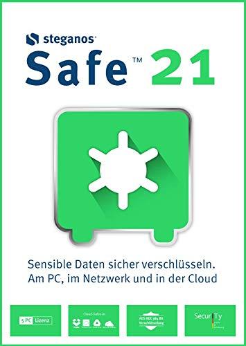Steganos Safe 21 | 5 Gerät | PC | PC Aktivierungscode per Email