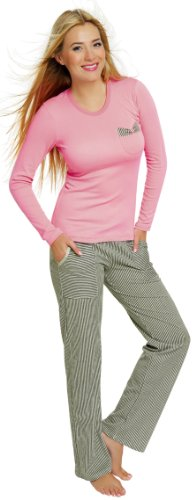 Italian Fashion IF Pijama Camiseta y Pantalones Mujer 1RT2 0223