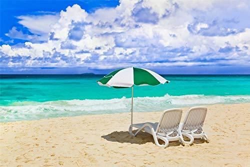 KCHUEAN Rompecabezas para Adultos 1000 Piezas Día Soleado En La Playa De Madera Montaje Personalizado