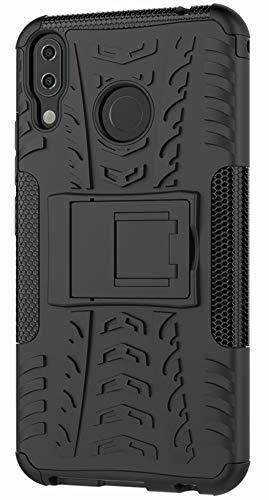 XINFENGDI Asus ZenFone 5Z ZS620KL Hülle,Handytasche Kratzfest aus TPU/PC Material Reifenprofil Handyhülle Kompatibel mit für Asus ZenFone 5Z ZS620KL - Schwarz
