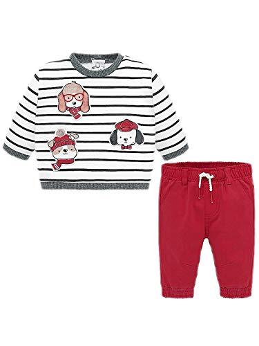 mayoral 19-02526-015 - ENS.Pantalon-Pullover pour Bébé garçon 1-2 Mois Mars