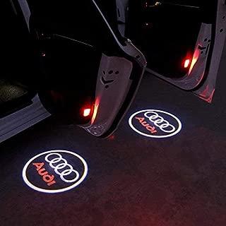 S LINE RS4 Led Door Light Projector Welcome OSRAM Logo Emblem HD 3D For AUDI RS4