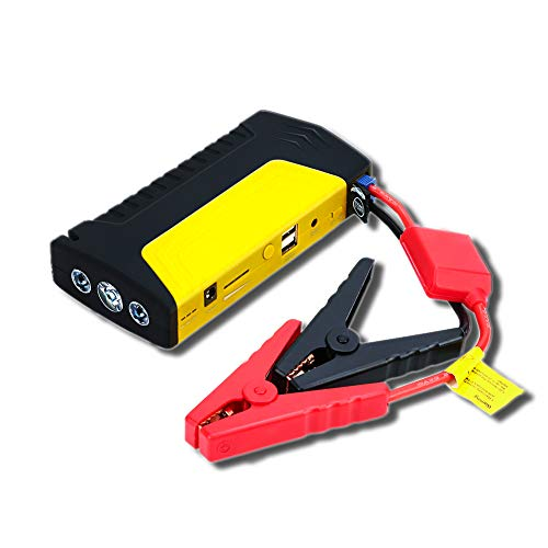 WCLOC Car Jump Starter, Portable Jump Starter 800a Peak 50800mah Upgrade With Usb Qc3.0, 12v Car Battery Charger & Maintainer