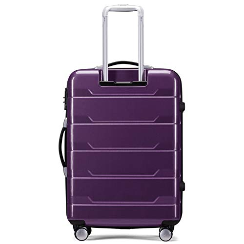 Color : Blue, Size : 20 inches 20//22//24//26 inches Z/&YY Trolley case Aluminum Frame Universal Wheel Suitcase Business deep Box Suitcase for Men and Women Boarding Lock Box