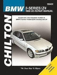 Chilton Automotive Repair Manual for BMW 3-Series/Z4, 1999-'05 (18401)