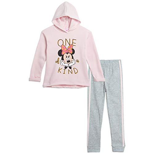 Disney Minnie Mouse Big Girls Hoodie and Legging Set 6/6X Pink