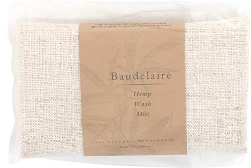 Baudelaire Wash Mitt Hemp