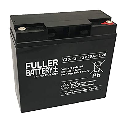 x4 Fuller VRLA 12V 20AH DEEP Cycle Mobility Scooter Battery