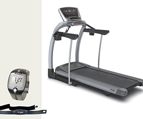 Vision Fitness TF 20 Touch Laufband - FT1 Polar Pulsuhr, T31 Brustgurt und Bodenmatte