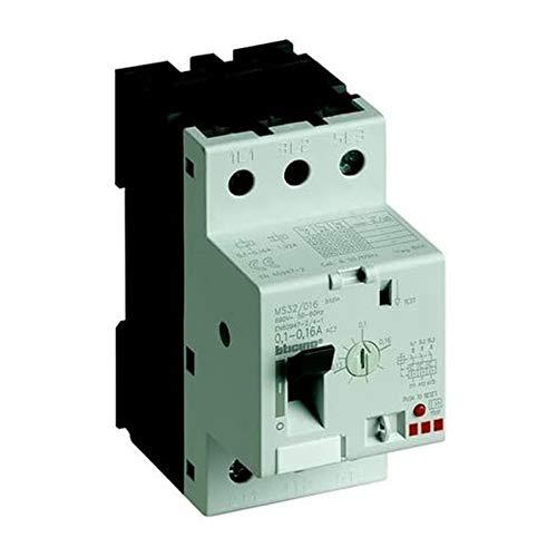 Bticino - Salvamotor magnetotérmico 3P 2,5 módulos DIN - Ir=20A 25A - Bticino LEGRAND MS32/25