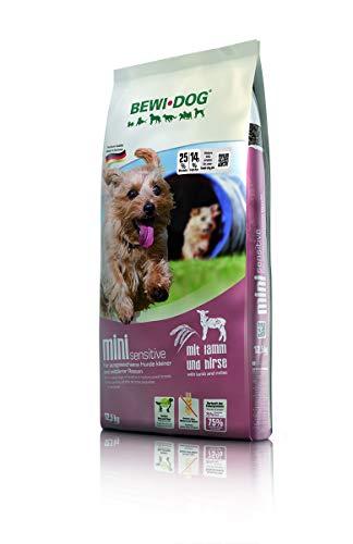 BEWI DOG Mini [12,5 kg] Hundefutter | Trockenfutter für kleine Hunderassen | ohne Weizen & Soja | 80% tierisches Eiweiß | extra kleine Kroketten