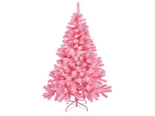 Gravidus Künstlicher Weihnachtsbaum in pink aus Kunststoff 150 cm