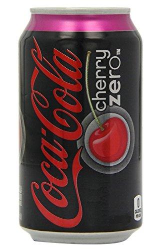 Coca-Cola Cherry Zero 33cl (pack de 6)