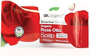 Dr.Organic ローズピュアソープ 100g