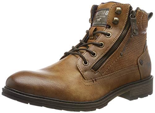 MUSTANG Herren 4140-501-301 Klassische Stiefel, Braun (Kastanie 301), 44 EU