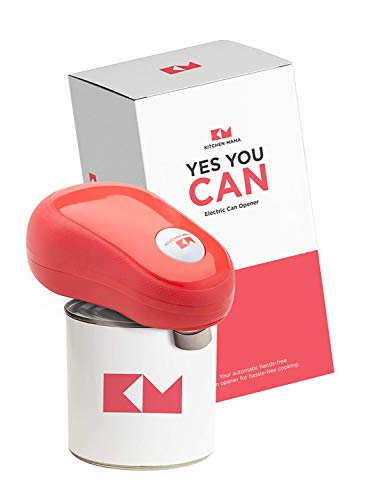 Kitchen Mama One Touch Electric Can Opener: Open Your Cans with A...