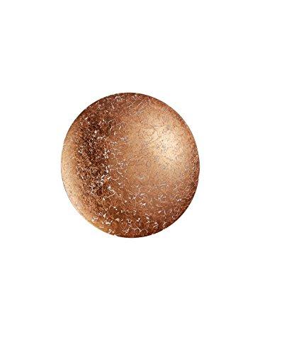 Trio Leuchten 224110109 Chiros A+, Wandleuchte, Metall, 8 watts, Integriert, Kupferfarbig, 22,00 x 22,00 x 6,50 cm