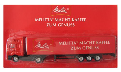 Melitta Nr.02 - Macht Kaffee zum Genuss - MB Axor - Sattelzug