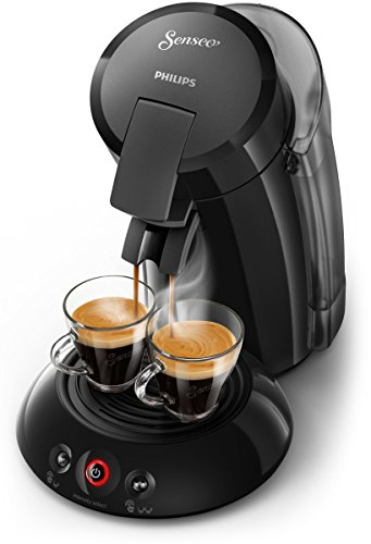 Senseo HD6555/20 Kaffeemaschine (Stand-alone, Pad-Kaffeemaschine, 1,2 l, Kaffeepad, 1450 W, Schwarz)