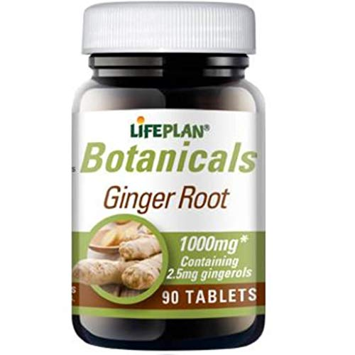 Lifeplan Ginger Root 1000mg 90 Tablets