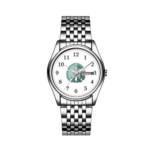 Top Brand Luxury Men's Watch 30m Waterproof Date Clock Male Sports Watches Men Quartz Casual Wrist Watch Antique Sea Sand Dollar Illustration Wrist Watch