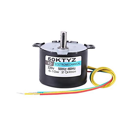 Motor síncrono AC220V 2.5 20R/min, motor síncrono de imán permanente 10W 0.5A...