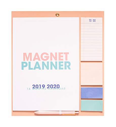 Erik - Planificador mensual de imán para nevera 2019/2020 Genérico