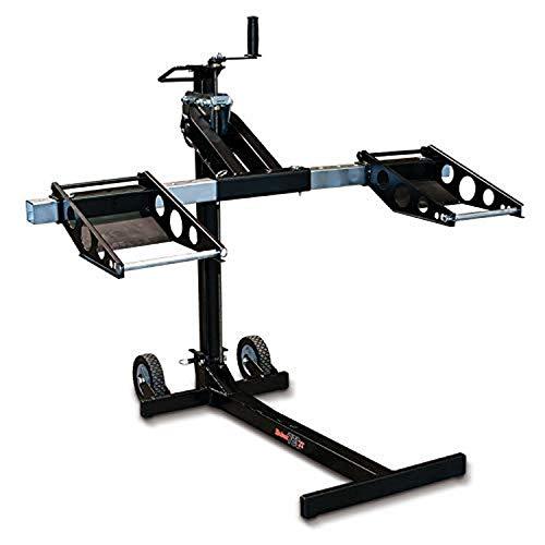 MoJack MJ750XT Riding Lawn Mower Lift, 750lb Capacity, Black
