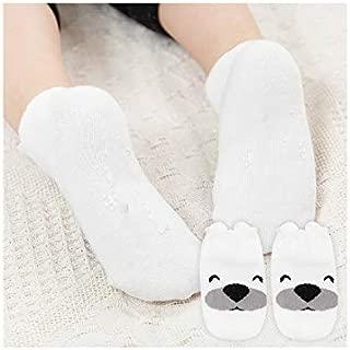 Lovely Socks Children Cotton Mesh Boats Socks Kids Spring and Autumn Short Tube Ship Socks(Grey) Newborn Sock (Color : White)