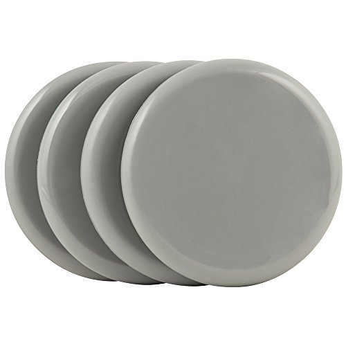 """SuperSliders 4743395N Reusable Furniture Sliders for Carpet- Quickly and Easily Move Any Item, 3-1/2"""" Gray (4 pack)"""