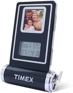 Timex TX5800 Digital Photo Frame with Temperature, Alarm Clock and Calendar