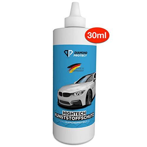 DiamondProtect - Kunststoffschutz der dauerhaft pflegt und schützt | Kunststoffpflege Auto - Cockpitpflege - Auto Innenraum Reinigung und mehr (30ml)