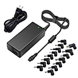 Outtag 65W Universal Laptop Charger AC Power Adapter 18.5V 19V 19.5V 20V Replacement for HP Dell Lenovo Acer ASUS Toshiba Samsung Sony Fujitsu Notebook Ultrabook Supply Cord