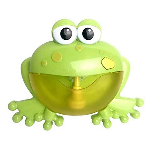 LoveOlvido Cartoon Leuke Kikker Automatische Bubble Machine Blower Maker Party Zomer Buitenspeelgoed Bubble Generate Toys For Children