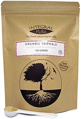 Triphala Powder | Organic Certified | Amla, Haritaki and Bibhitaki | 1g Scoop Included (200g)