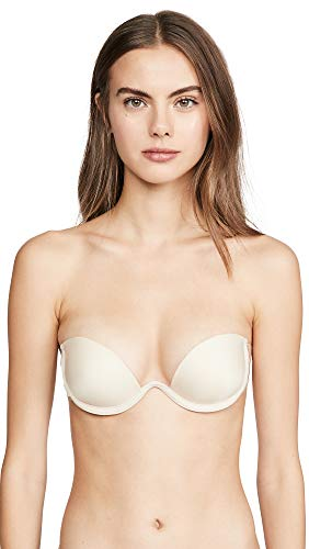 Maidenform Women's Combo Wing Backless Adhesive Bra with Underwire, 5, Nude