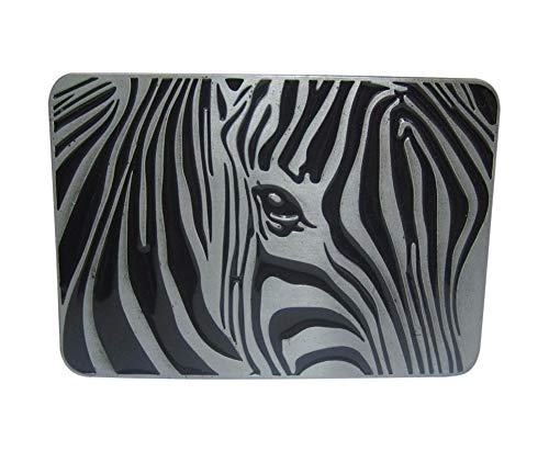 Riem gesp stijl paard Zebra, tinnen