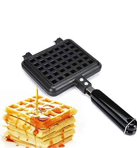 Buy Non-stick Waffle Maker, Aluminum Waffle Irons Double Side Crepe Pan Waffle Iron Multifunctional ...