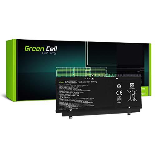 Green Cell 859026-421 859356-855 HSTNN-LB7L SH03XL SHO3XL TPN-Q178 Battery for HP Laptop (4200mAh 11.55V Black)