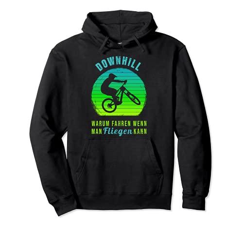 Warum Fahren Cooler Spruch Downhill Trikot Mountainbike Bike Pullover Hoodie