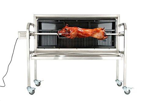 CLP Barbecue tourne broche éléctrique BARNY, Rotissoire verticale avec beaucoup dŽaccessoires, surface...