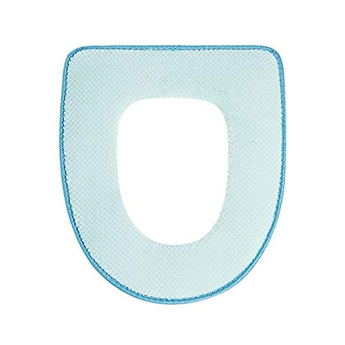 WSJF toiletbril kussensloop badkamer vier seizoenen universele PU toiletbril waterdicht kussen, 36,5 * 42cm