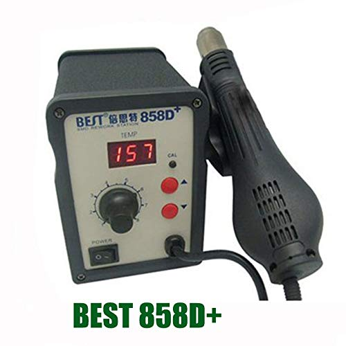 Soldering Hot Air gun/Rework Station Hot Blower Hot wind Gun Heat Gun BEST-858D+